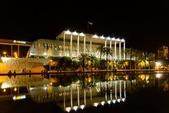 Les Palaos de la Musica (palais de musique) De Valence Image stock