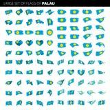 Les Palaos marquent, dirigent l'illustration Photographie stock