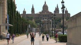 Les Palaos Nacional, Barcelone, Espagne, banque de vidéos