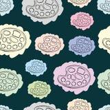 Les palettes peintes sans couture illustration libre de droits