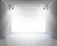 Les panneaux d'étape Illustration de vecteur Image libre de droits