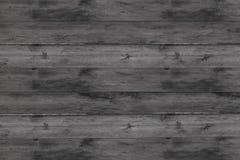 Les panneaux horizontaux en bois modifiés la tonalité de fond lambrissent la toile raide rustique de conception monochrome de bas photographie stock libre de droits