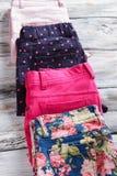 Les pantalons de Madame avec la copie élégante Images stock