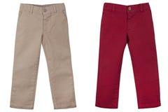 Les pantalons des hildren de ¡ de Ð Image stock