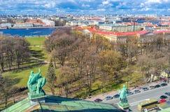 Les parcs de St Petersburg Images libres de droits