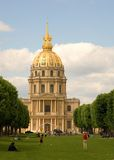 les Paris d'invalides de la France Images stock