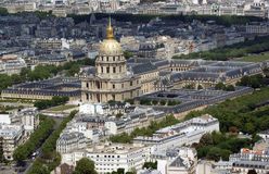 les paris invalides Франции Стоковая Фотография