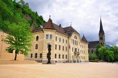 Les Parlements de la Liechtenstein Photographie stock libre de droits