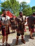 Les participants des temps et des époques internationaux de festival Rome antique Image libre de droits