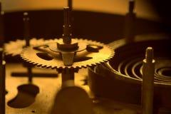 Les parties de la vieille horloge - II photographie stock