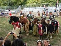 Les 2016 parties médiévales 28 de festival Photos libres de droits