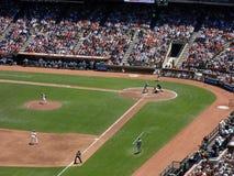 Les pas en avant de Tim Lincecum de broc de Giants aux jets lancent pour capitonner Images libres de droits