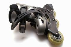 Les patins de rouleau Photos libres de droits