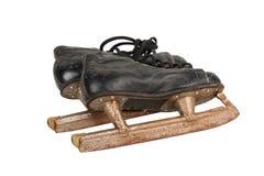 Les patins de vieil homme Images libres de droits