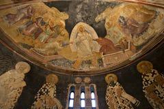 Les patriarches et les évêques du mur d'apse Photo libre de droits