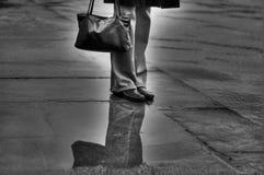 Les pattes de la fille Images stock