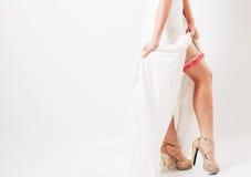 Les pattes de la mariée Image libre de droits