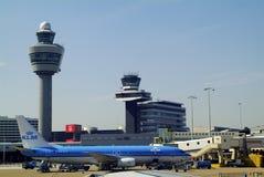 Les Pays-Bas, aéroport Image stock