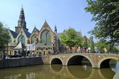 Les Pays-Bas, Amsterdam Photographie stock
