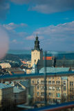Les paysages de la ville images libres de droits