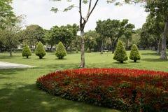 Les paysages extérieurs gentils conçoivent en île Guangzhou d'Ersha images libres de droits