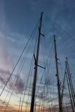Les paysages marins toscans, paradis est prochaine BT images stock