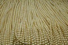 Les perles précieuses Images stock
