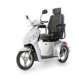 Les personnes âgées motorisées de scooter de mobilité Franco Camion Photos stock