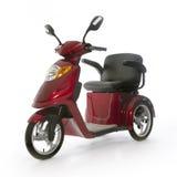 Les personnes âgées motorisées de scooter de mobilité Franco Camion Image stock