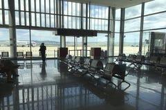 Les personnes d'aéroport Photographie stock