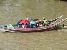 Les personnes de la Birmanie Photo libre de droits