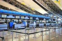 les personnes voyagent à l'aéroport international de Kansai à Osaka Photographie stock libre de droits