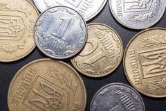 Les petites pièces de monnaie Photos stock