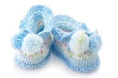 Les petits chaussons du bébé Images stock