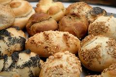 Les petits pains de Hartesan ont varié et ont empilé 2 image libre de droits