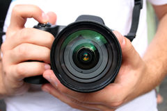 Les photographes. photos stock