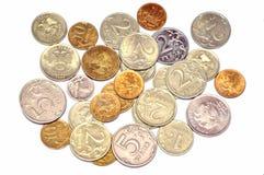 Les pièces de monnaie de Russe Images libres de droits