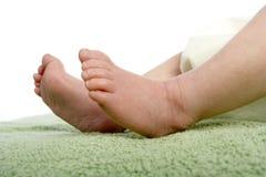 Les pieds de la chéri Image libre de droits