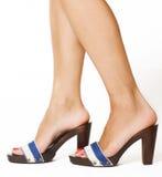 Les pieds du femme Photos libres de droits