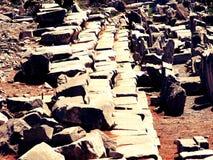 Les pierres antiques Photos stock