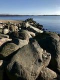 Les pierres arrosent la nature de roches de landscabe photographie stock libre de droits