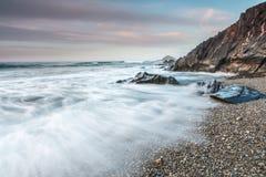 Les pierres de la plage Photo stock