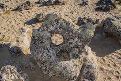 Les pierres de ` de Pobiti de ` Images stock