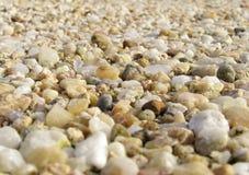 Les pierres donnent à horizontal une consistance rugueuse Images stock