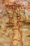 Les pierres donnent une consistance rugueuse et fond Oscillez la texture photographie stock