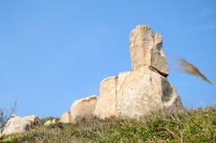Les pierres en île de Dongao Image libre de droits