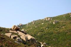 Les pierres en île de Dongao Image stock