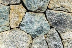 Les pierres sont arrangées dans un rectangulaire Image stock