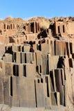 Les pipes d'organe, Damaraland, Namibie. images libres de droits