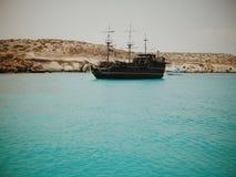 Les pirates des 04 des Caraïbes Photos libres de droits